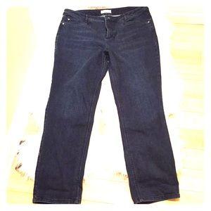 J. Jill jeans - smooth fit straight leg